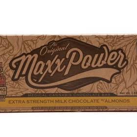 Super Maxx Chocolate Bars - Extra Strength 180mg-Milk Almond-Dark  - Edible