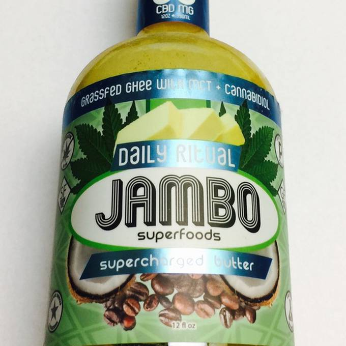 Jambo Ghee Supercharged Butter