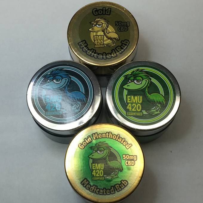 EMU 420 Essentials GOLD Medicated Rub
