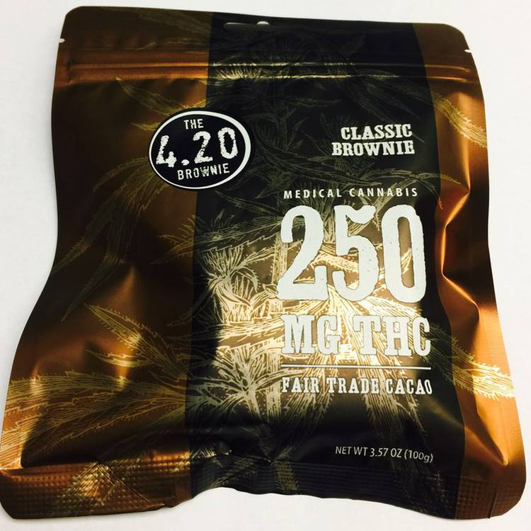 Venice Cookie Company Classic Brownie (250 MG) - This classic traditional brownie is guaranteed to do the trick containi
