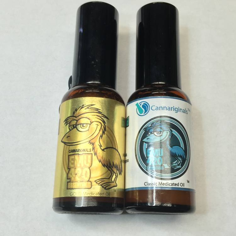 Emu 420 Essential Rub - Emu oil enfused with THC and CBD for full pain relief effect. - Topicals