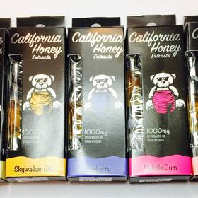 California Honey Extracts Vape - 1000mg Assorted Strains. - Concentrate