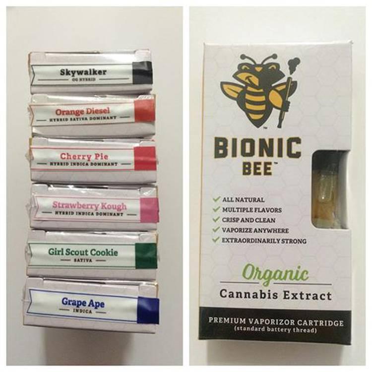 Bionic Bees vape cartridges