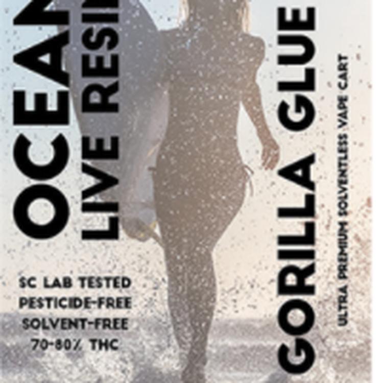 Gorilla Glue ocean live resin
