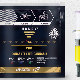 Honey Vape Glass Applicator CBD