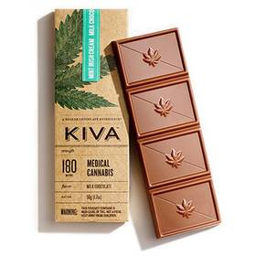 Kiva Chocolate Bar Irish Cream