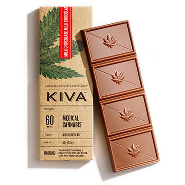 Kiva Chocolate Bar Milk Chocolate