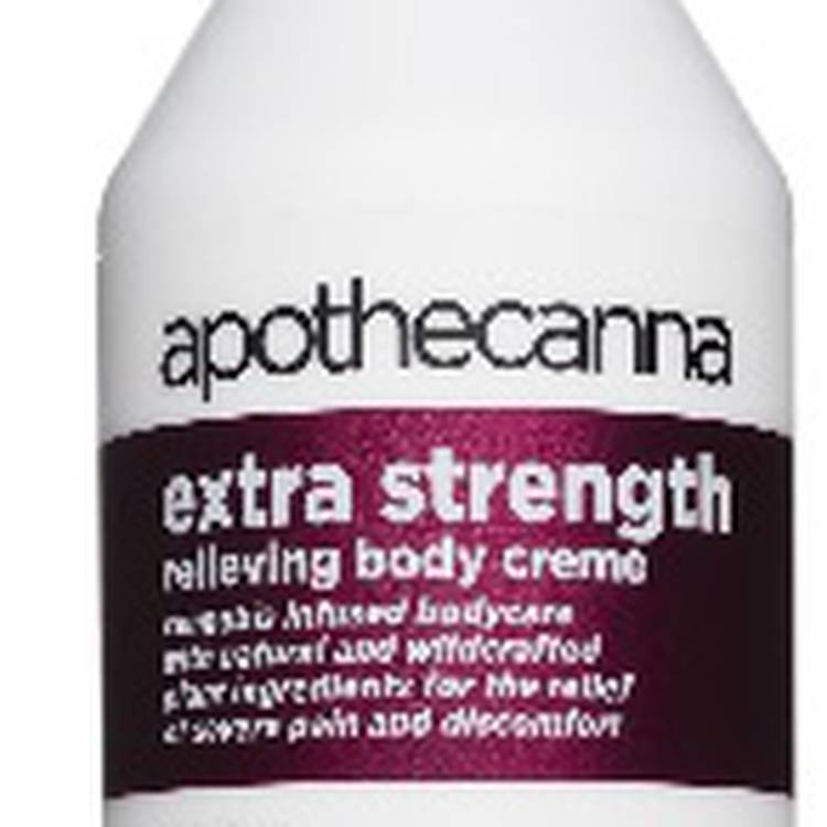 apothecanna extra strength body creme