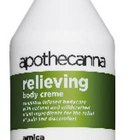 apothecanna relieving body creme