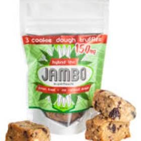JAMBO THC Truffle 150mg - Organic, cookie dough flavor - Edible