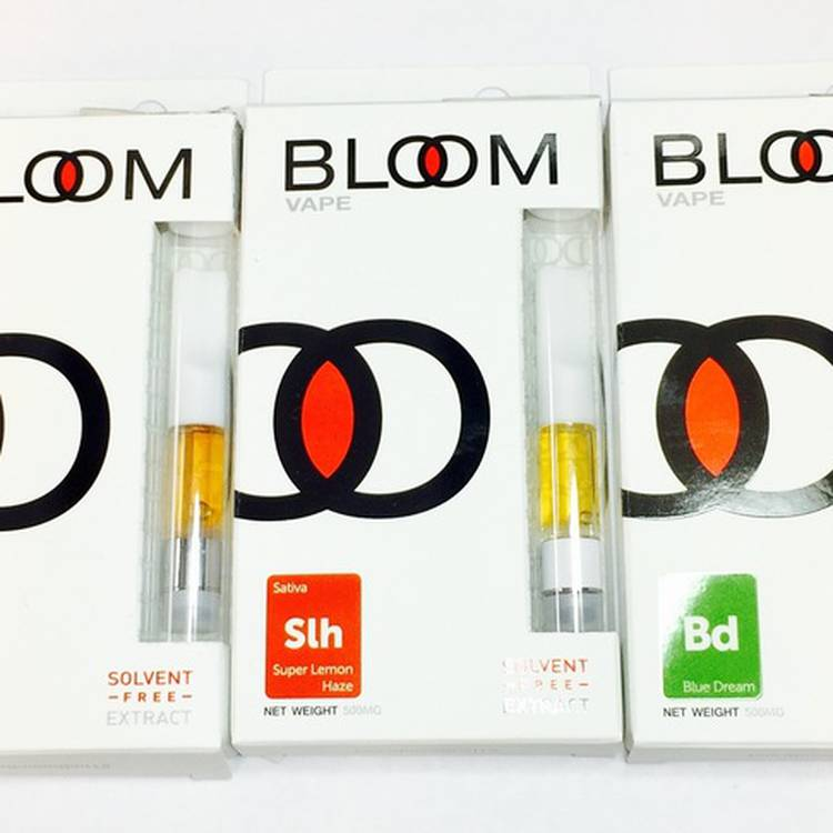 Bloom Vape Solventless - Indica, Sativa, and Hybrid available. Lab tested - Concentrate