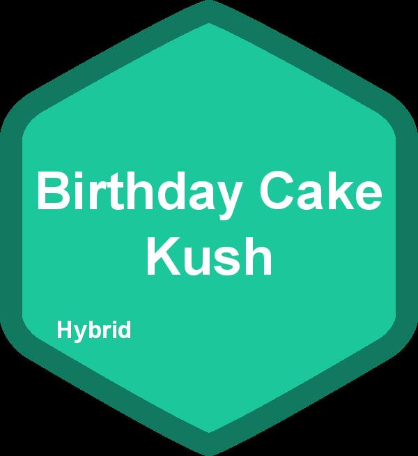 Birthday Cake Kush Hybrid The Duber