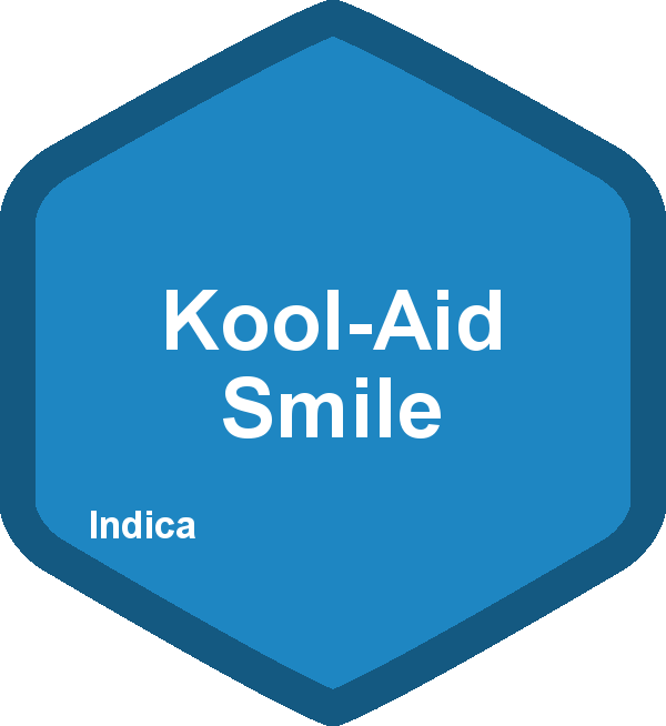 What is a kool aid smile