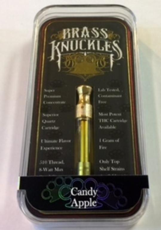 Skywalker Knuckles Brass 1g Cart Vape