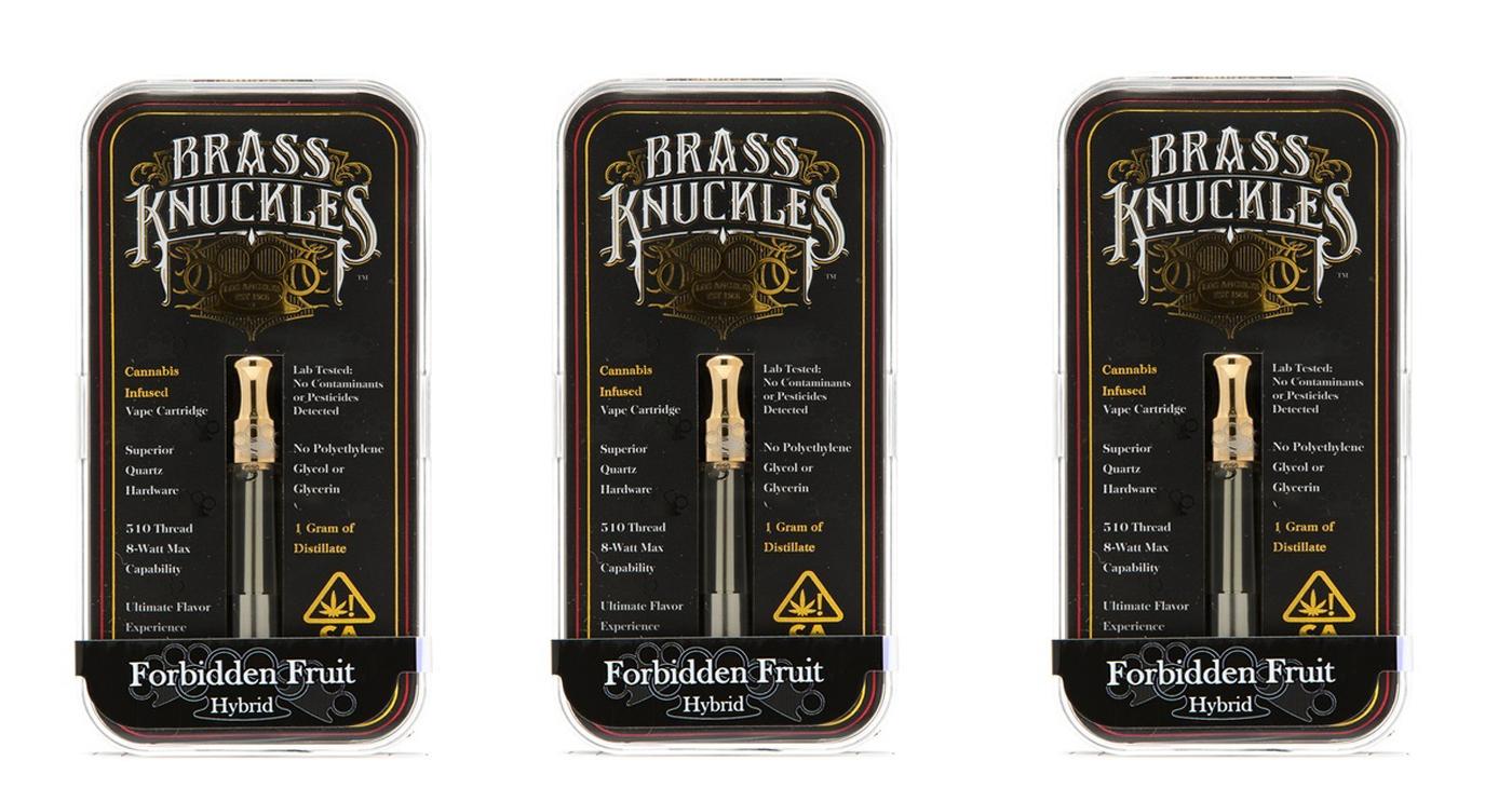 Brass Knuckles Vape - The Duber