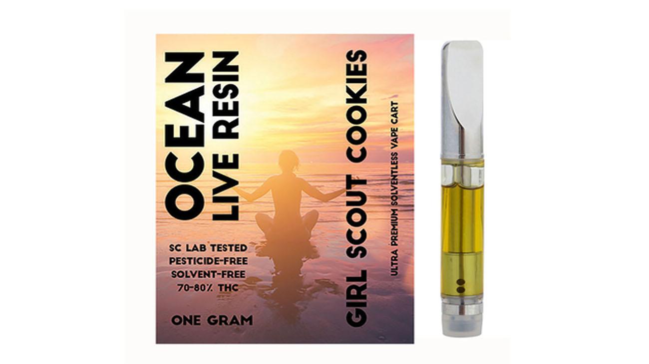 Ocean Live Resin Cartridges - The Duber