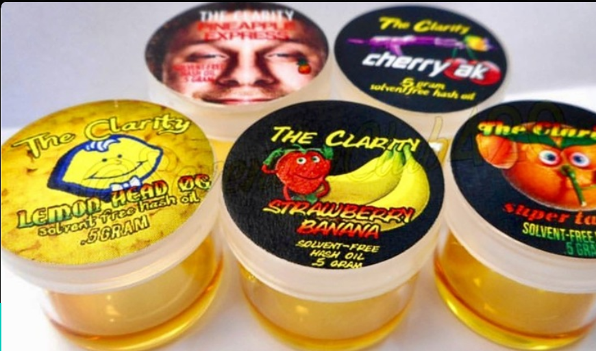 Vader Extracts The Clarity Premium Hash Oil